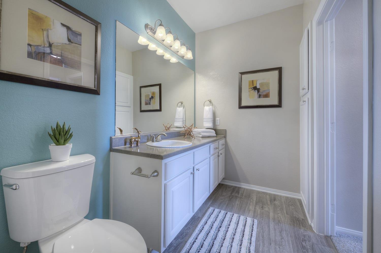 Master Bath at Manzanita Gate Apartment Homes, NV 89523