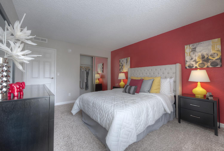Comfortable Bedroom at Vizcaya Hilltop, Reno, NV
