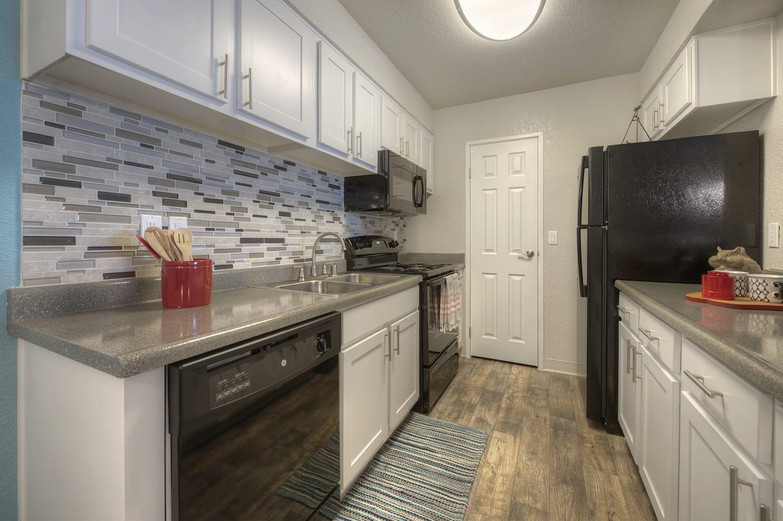 Fully Furnished Kitchen at Vizcaya Hilltop, Nevada
