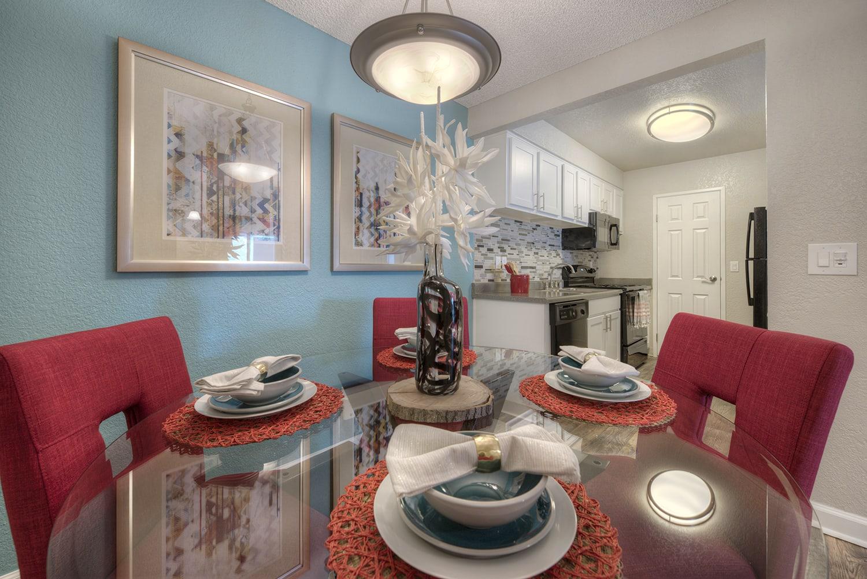 Dining Area at Vizcaya Hilltop, Nevada, 89523