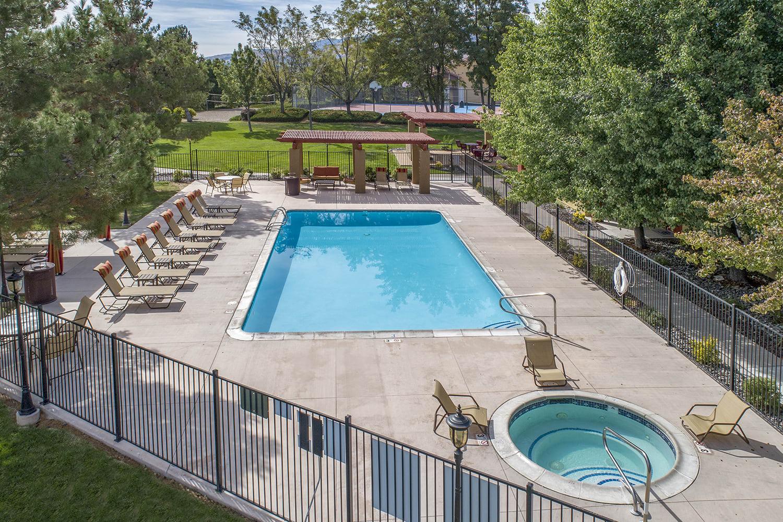 Resort-Style Pool at Vizcaya Hilltop, Reno, NV, 89523
