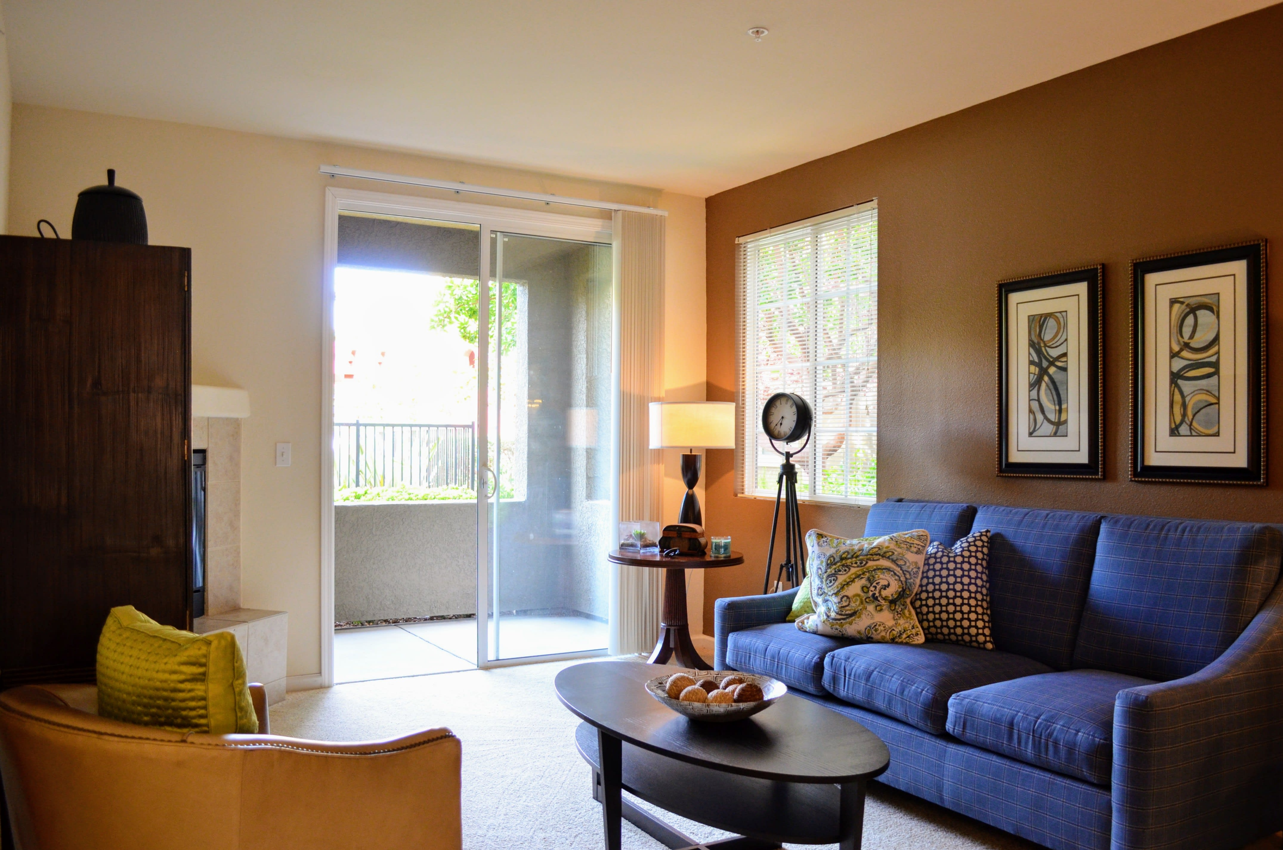 Private Patio/Balcony at Sterling Village Apartment Homes, California, 94590