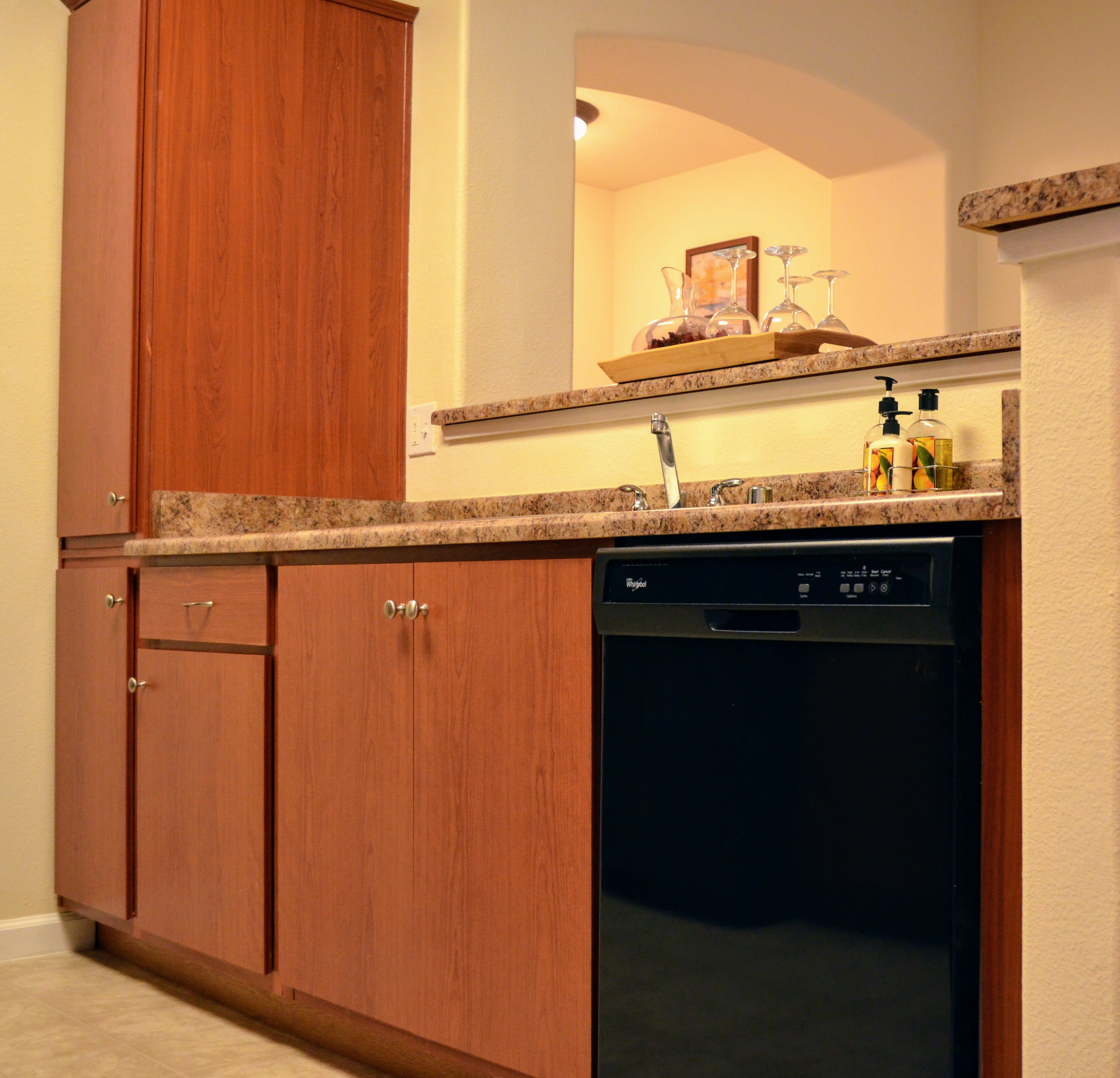 Rich Shaker Style Cabinetry at Sterling Village Apartment Homes, California, 94590