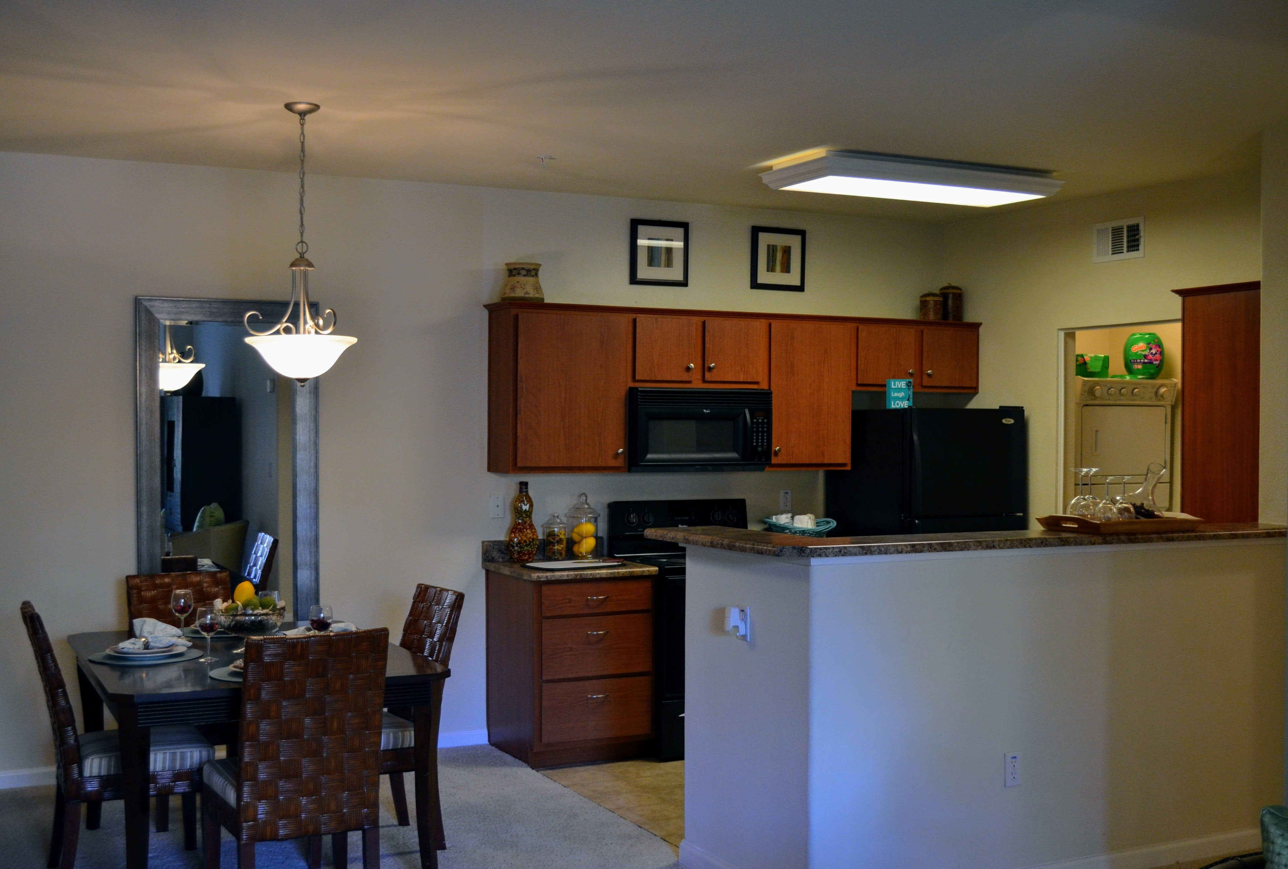 Open Floor plan at Sterling Village Apartment Homes, 88 Valle Vista Avenue, 94590