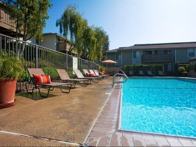 Poolside at Stoneridge Apartments, Upland, CA,91786