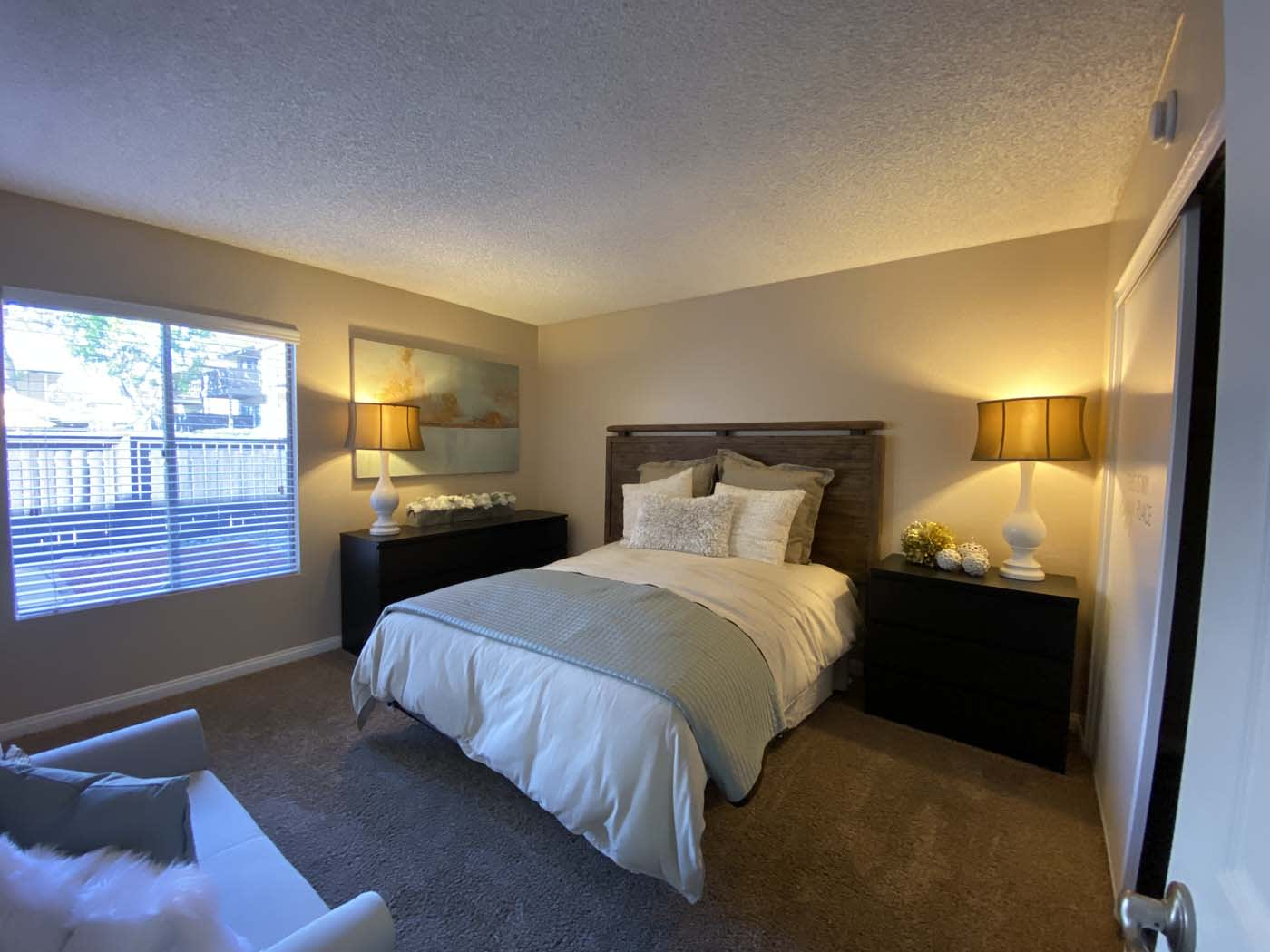 Comfortable Bedroom at Stoneridge Apartment, Upland, CA, 91786