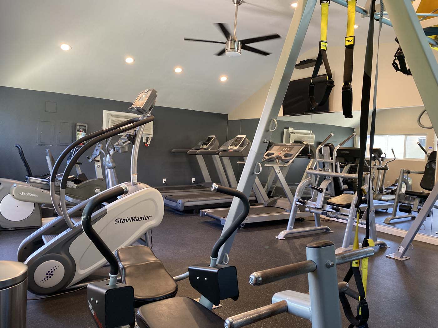 Beautiful Fitness Center at Stoneridge Apartment, Upland, 91786