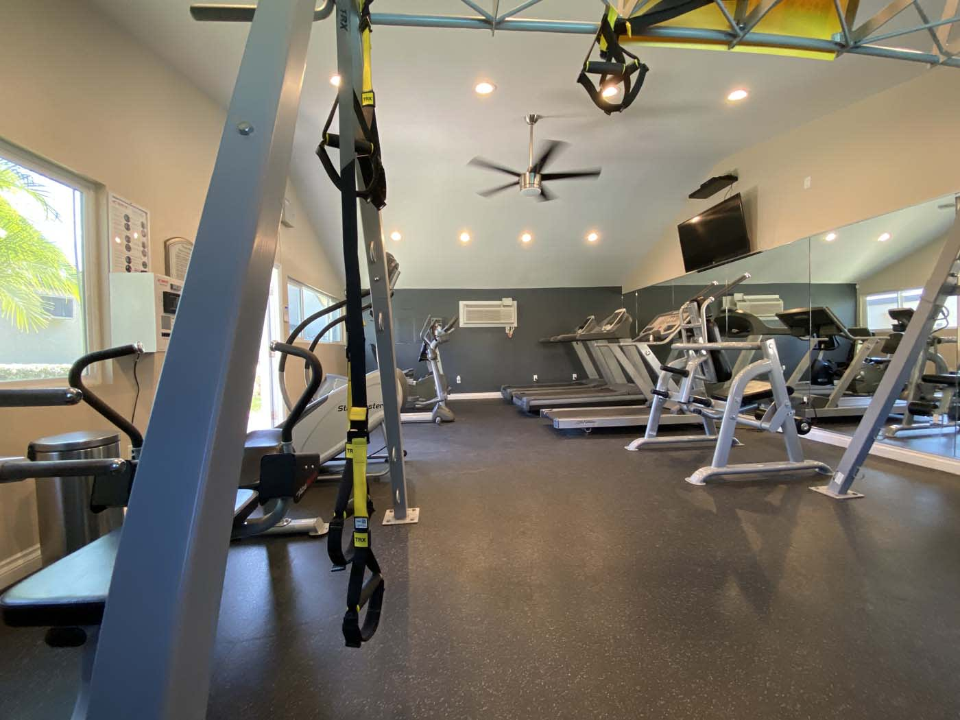 Fitness Center Access at Stoneridge Apartment, California