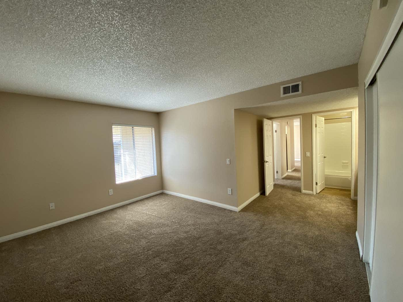 Bathroom Attach With Living Room at Stoneridge Apartment, Upland, CA, 91786