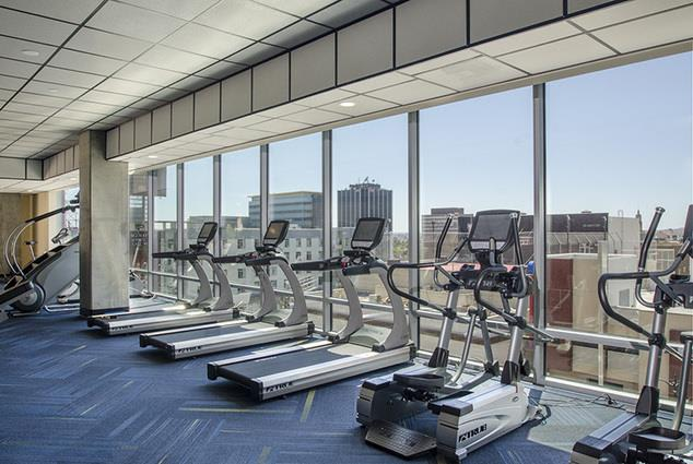 Home Community-24 hour Fitness Center at 1600 Vine Apartment Homes, Hollywood, CA