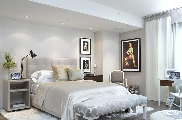 Home Community - Master Bedroom at 1600 Vine Apartment Homes, 1600 VINE Street, Hollywood