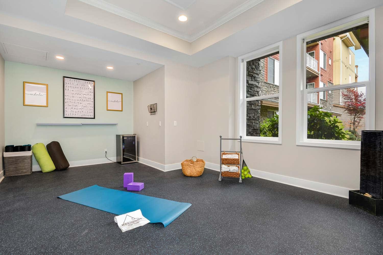 Yoga Studio at Reunion at Redmond Ridge, Redmond, WA