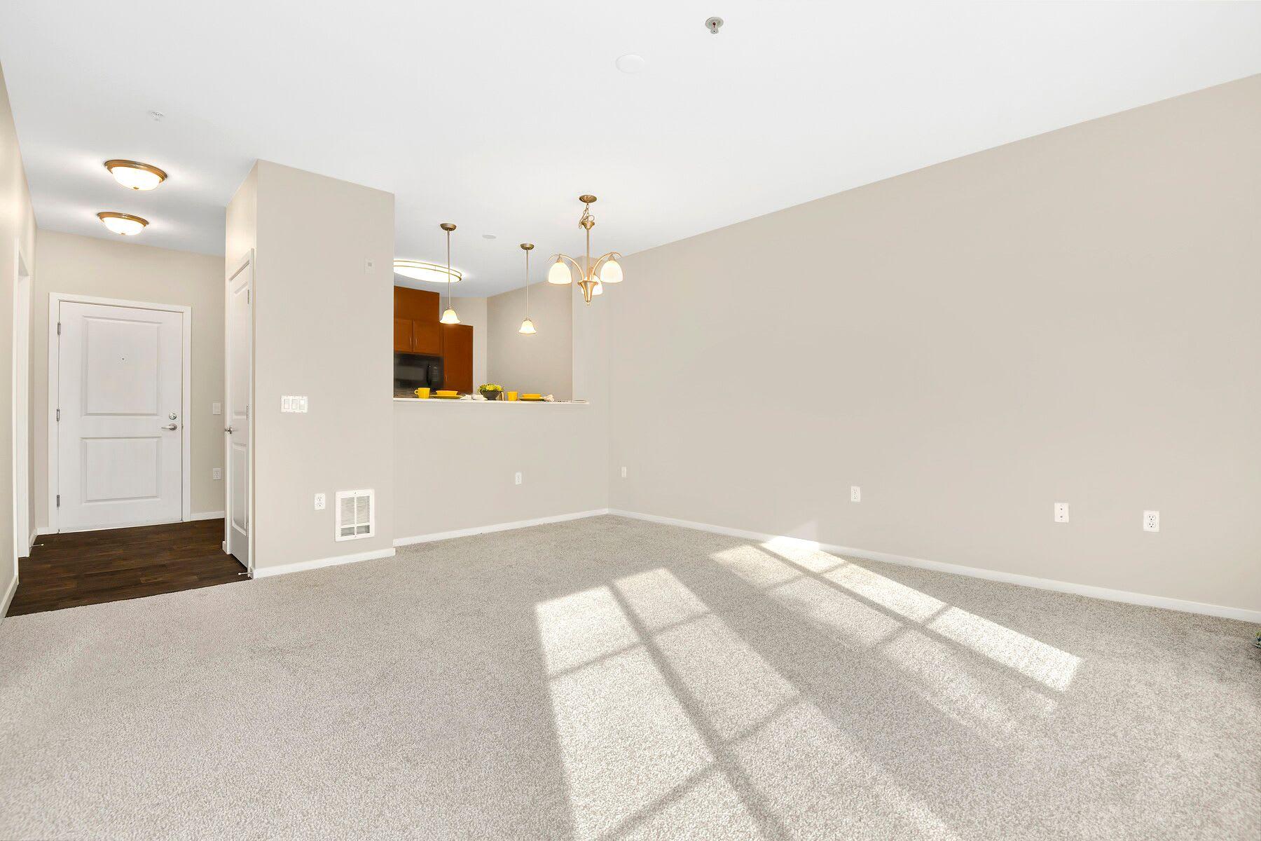 Open Floor Plan at Reunion at Redmond Ridge, Redmond, Washington