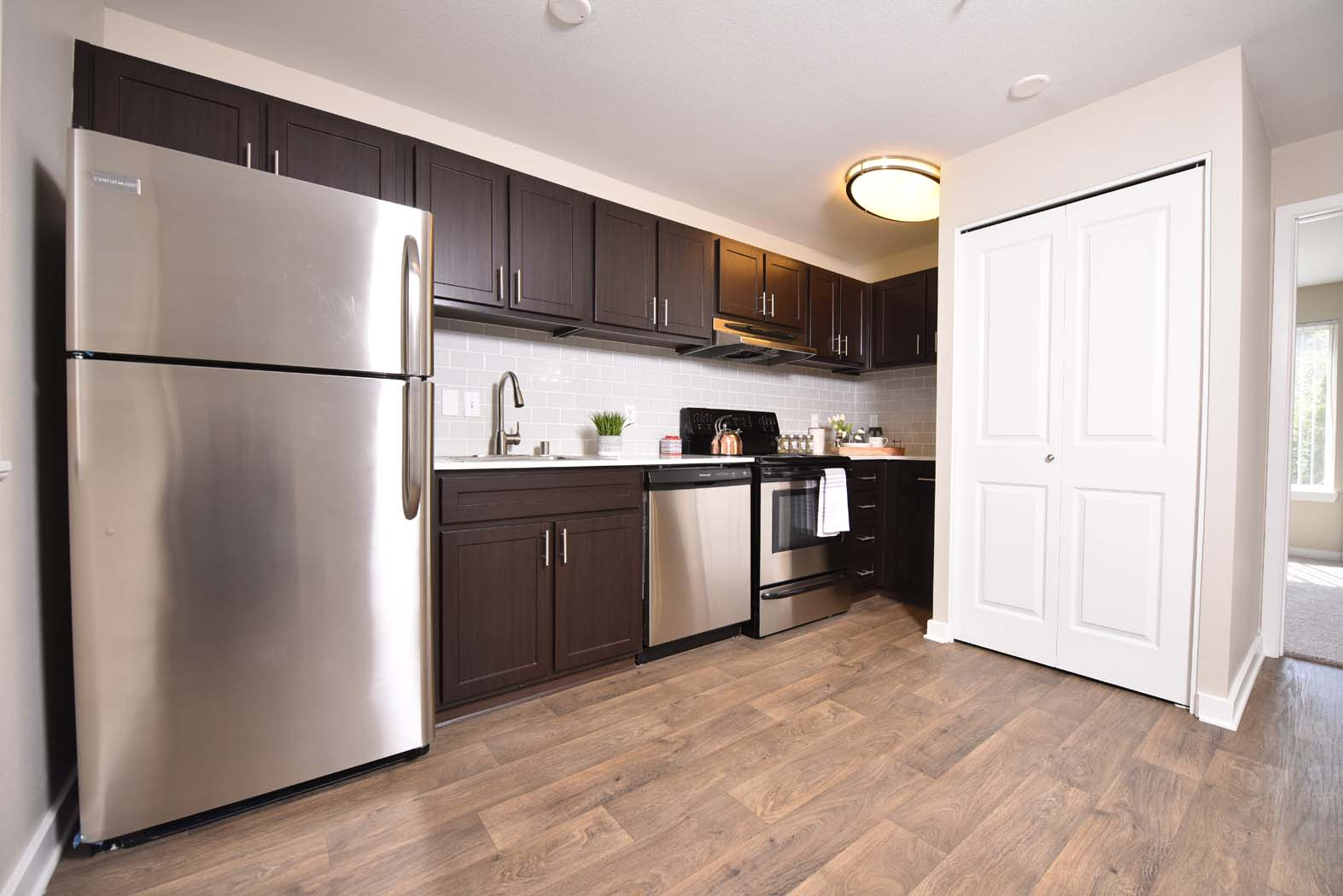 Bright Kitchen at Russellville Commons, Portland, 97216