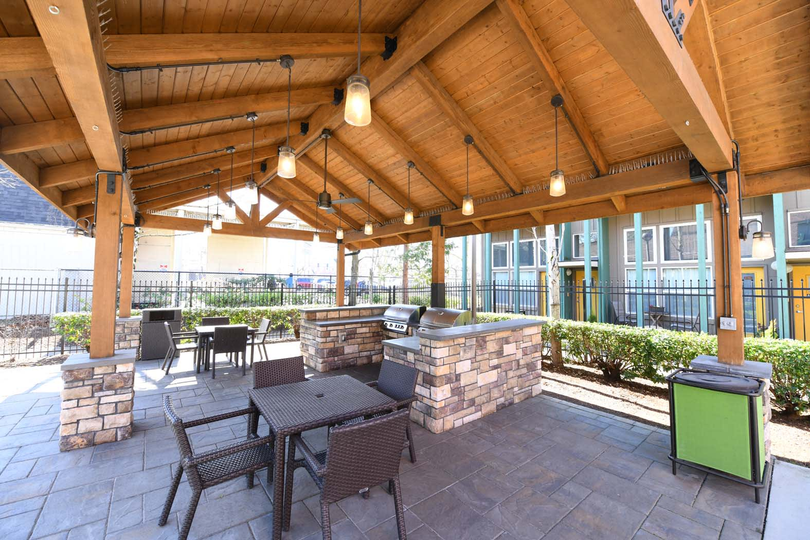 Bbq With Courtyard at Russellville Commons, Portland, 97216