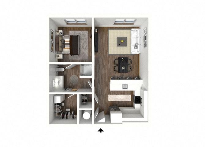 Floor Plan at 1415