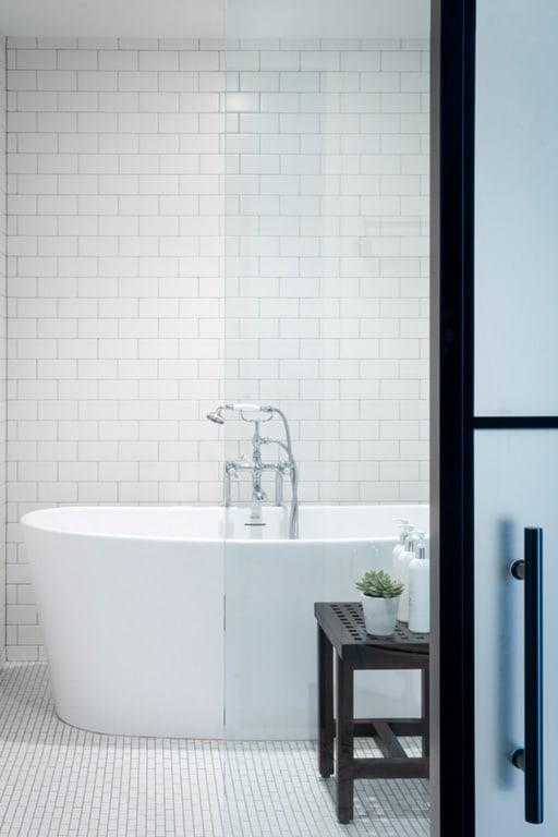 Large Soaking Tub In Bathroom at Aertson Midtown, Nashville, TN, 37203