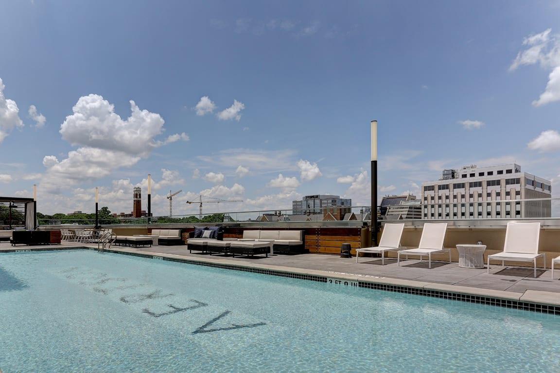 Invigorating Swimming Pool at Aertson Midtown, Nashville, TN