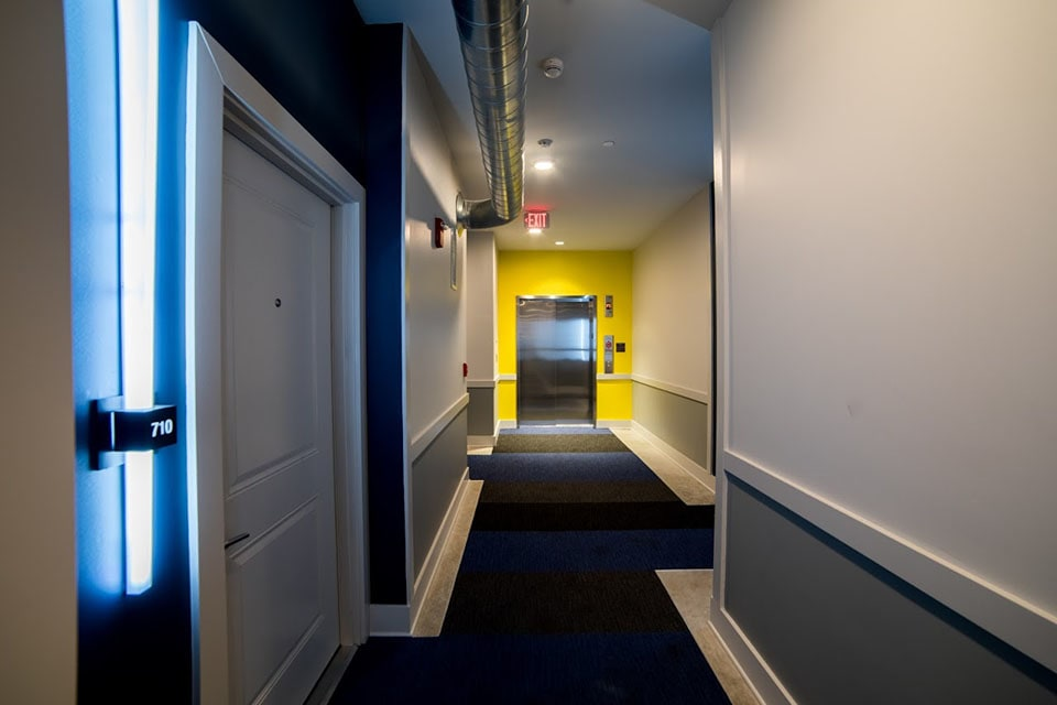 Door Hallway at CityWay, Indianapolis, IN, 46204