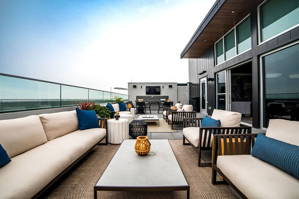 Rooftop Lounge at CityWay, Indiana, 46204