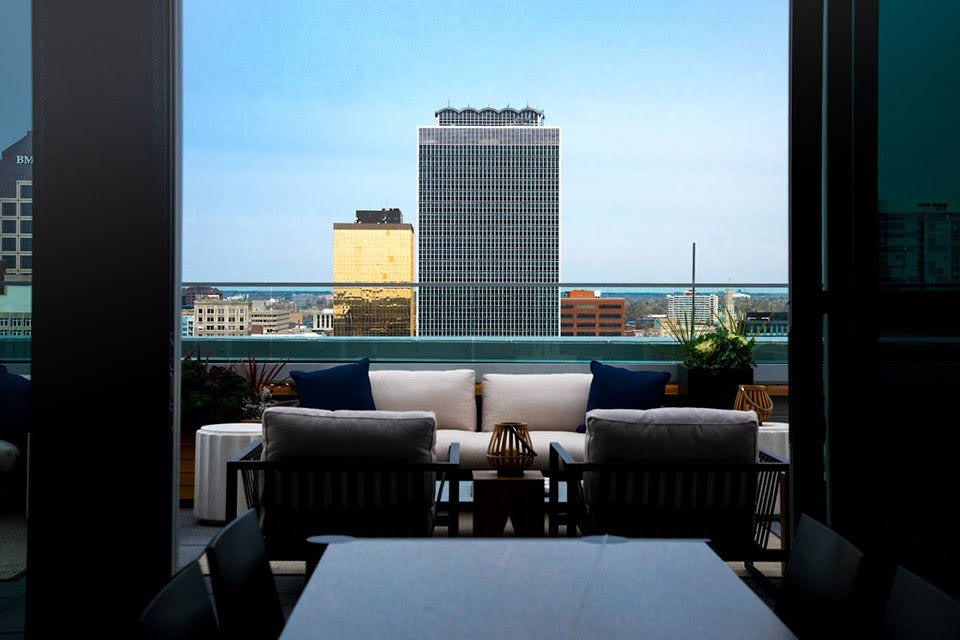 Lounge With A View at CityWay, Indianapolis, IN, 46204