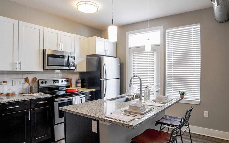 All Electric Kitchen at CityWay, Indianapolis, 46204