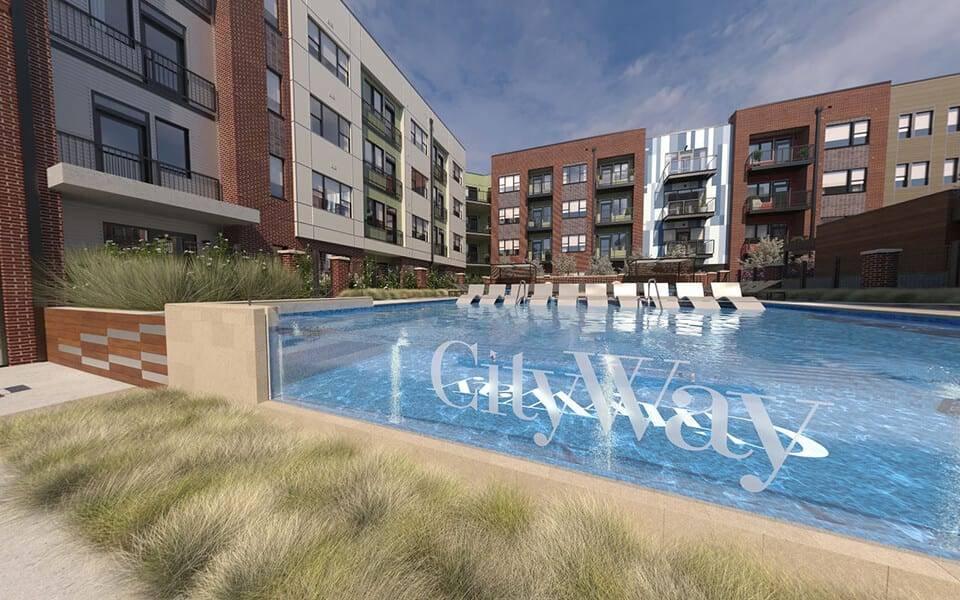 Invigorating Pools at CityWay, Indianapolis