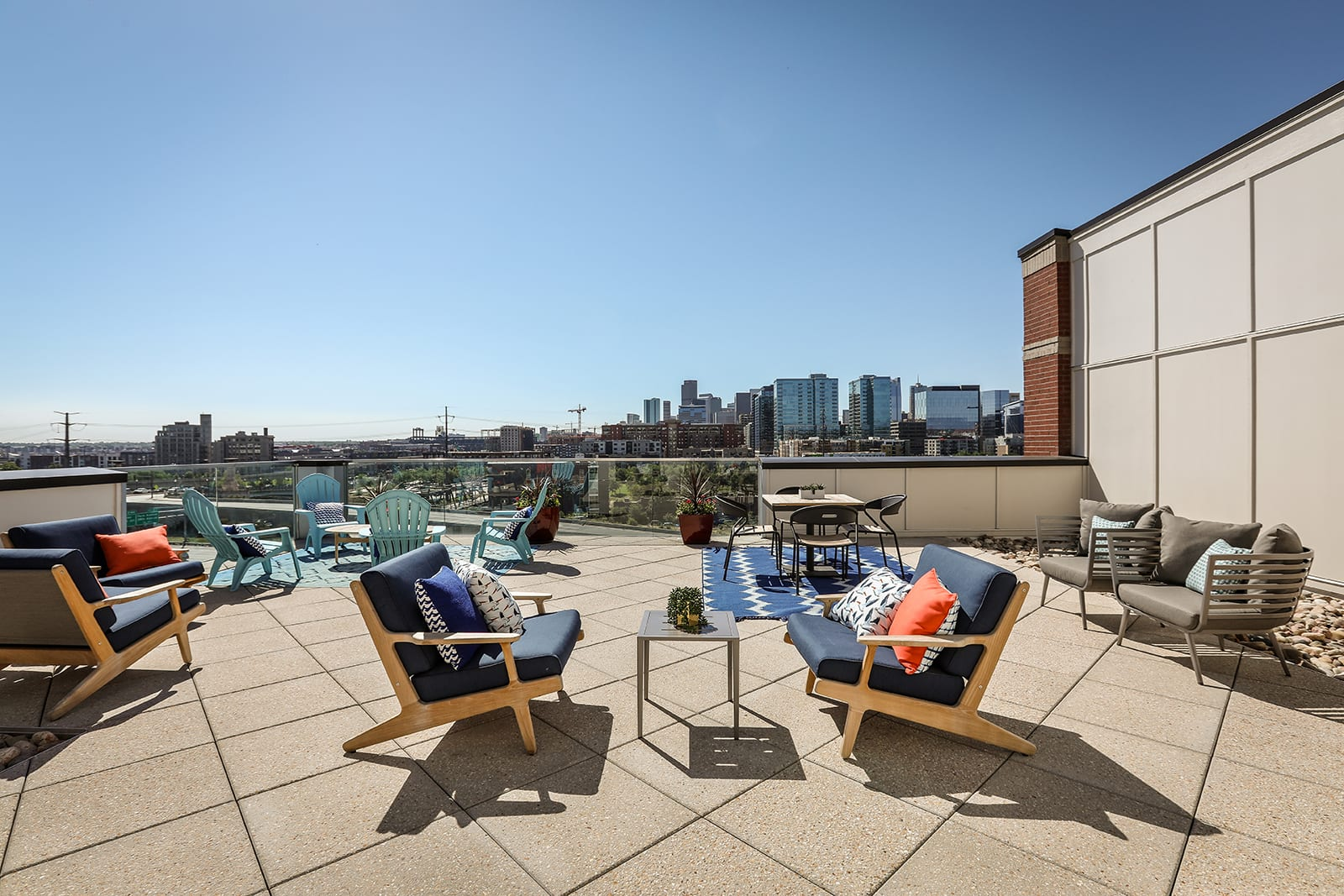 Rooftop Deck With Plenty Of Space To Lounge And Entertain at Centric LoHi by Windsor, Colorado, 80211