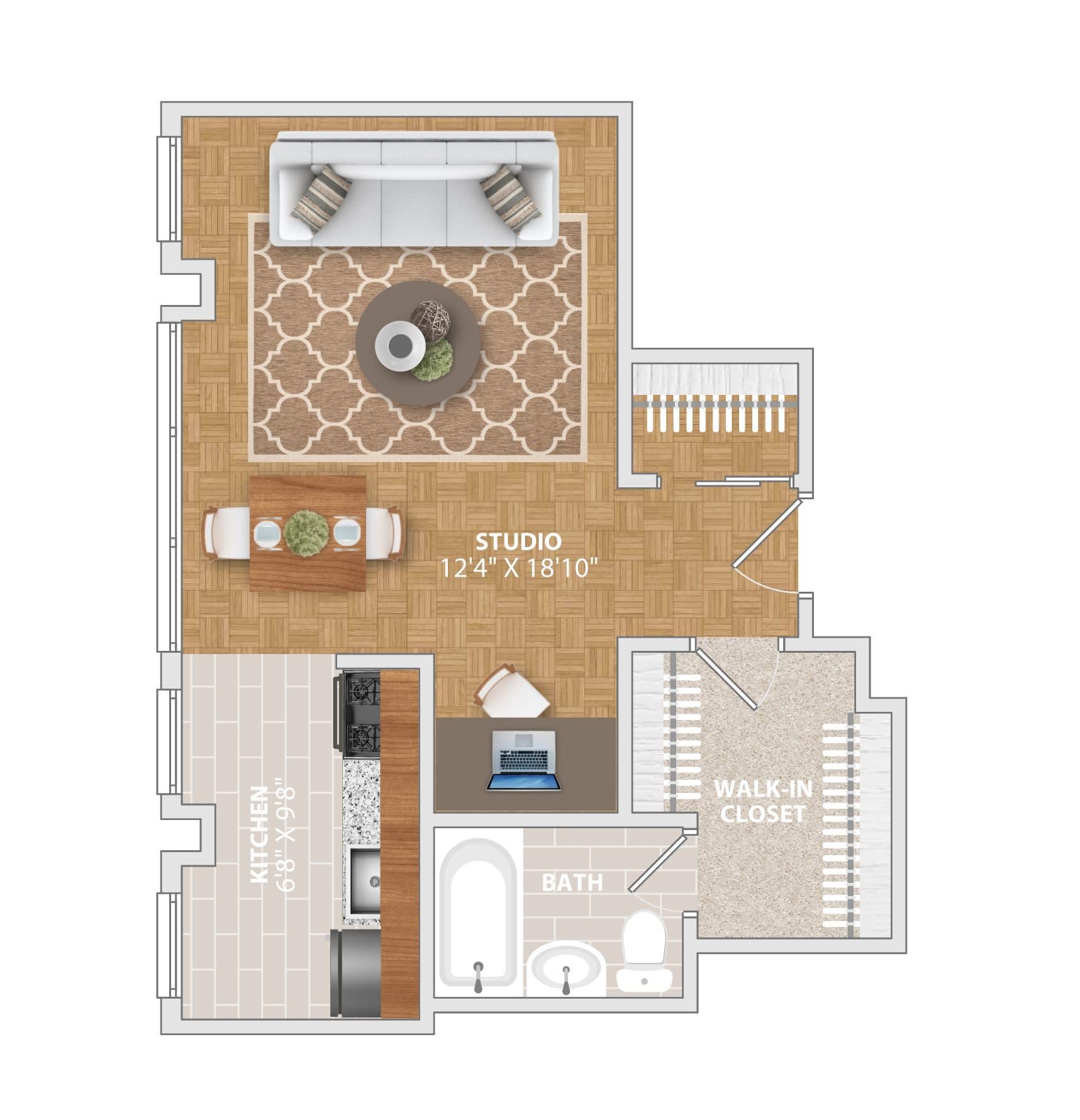 Floor Plans Of Bridgeyard Old Town In Alexandria Va