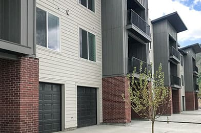 Walking Path at Foothill Lofts Apartments & Townhomes, Logan, 84341