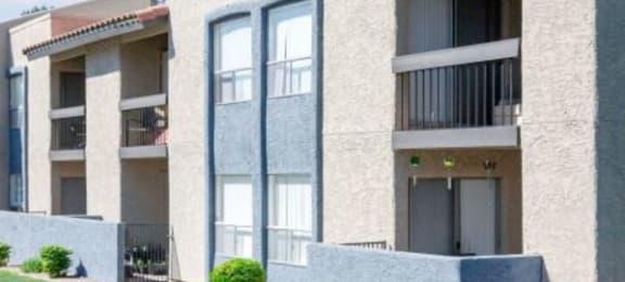 Elegant Exterior View Of Property at Aztec Springs Apartments, Mesa, AZ