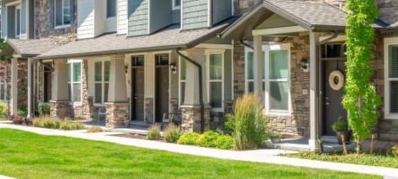 Apartment Entry at Parc at Day Dairy Apartments & Townhomes, Draper, Utah