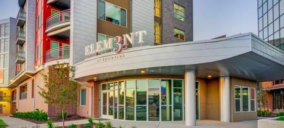 Leasing Office Entrance at Element 31Apartments, Salt Lake City, Utah