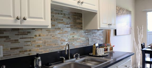 Sink and Dishwasher at Monte Vista Apartment Homes, California, 91750