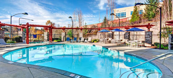 Resort-Inspired Pool, at Beaumont Apartment Homes, Woodinville, Washington