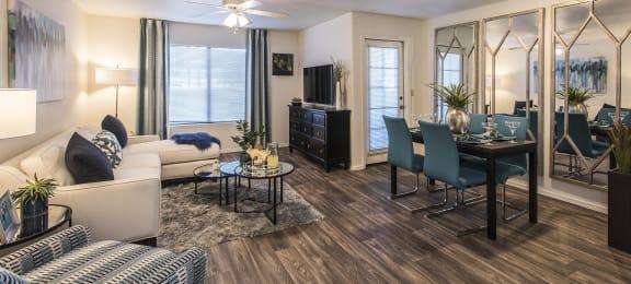 Classic Living Room Design With Television,at San Valiente, Phoenix, AZ 85021