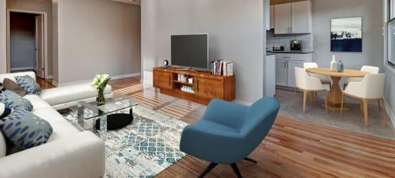 contemporary interior for apartment unit in seattle