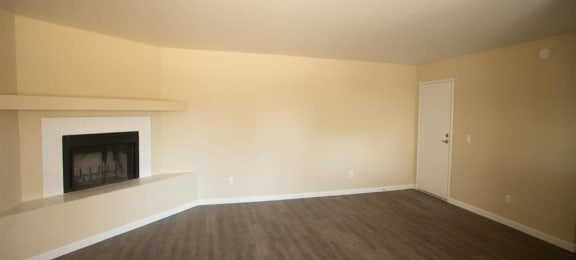 Living Room at Copper Point Apartments in Mesa, AZ