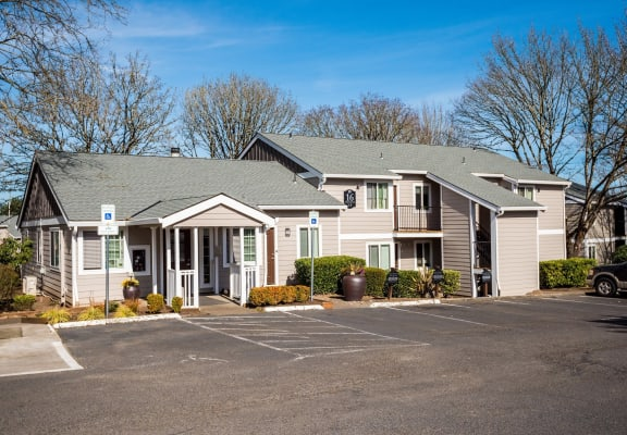 Tood Village Leasing Office & Parking Lot