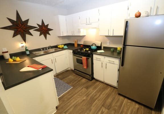 kitchen at Academy Terraces in Albuquerque nm