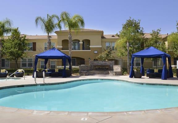 Swimming Pool at Santa Rosa Apartment Homes, California, 92595