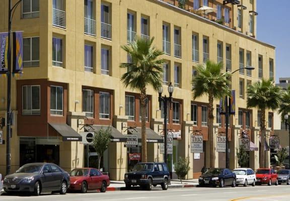 External Apartment View at Trio Apartments, Pasadena, CA 91101