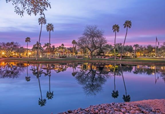 Lake at Lakeview at Superstition Springs, Mesa, AZ 85206