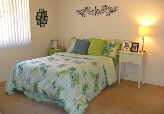 Bedroom at Sierra Pointe Apartments in Tucson, AZ