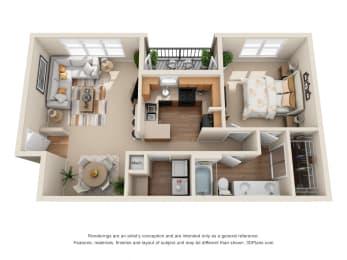 Floor Plan The El Paso, opens a dialog