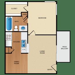 A2 floor plan, opens a dialog