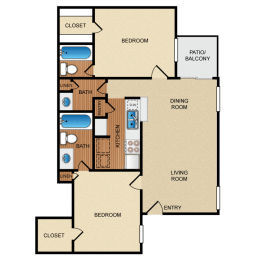 B3 floor plan, opens a dialog