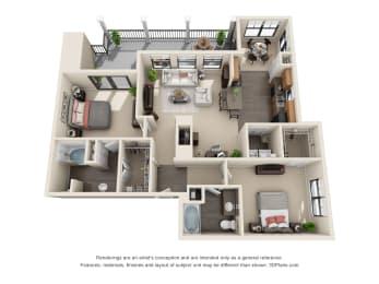 Floor Plan Ruellia, opens a dialog