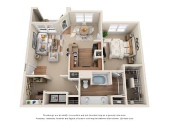 Floor Plan The Abilene, opens a dialog