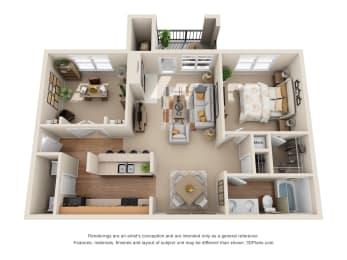 Floor Plan The Amarillo, opens a dialog